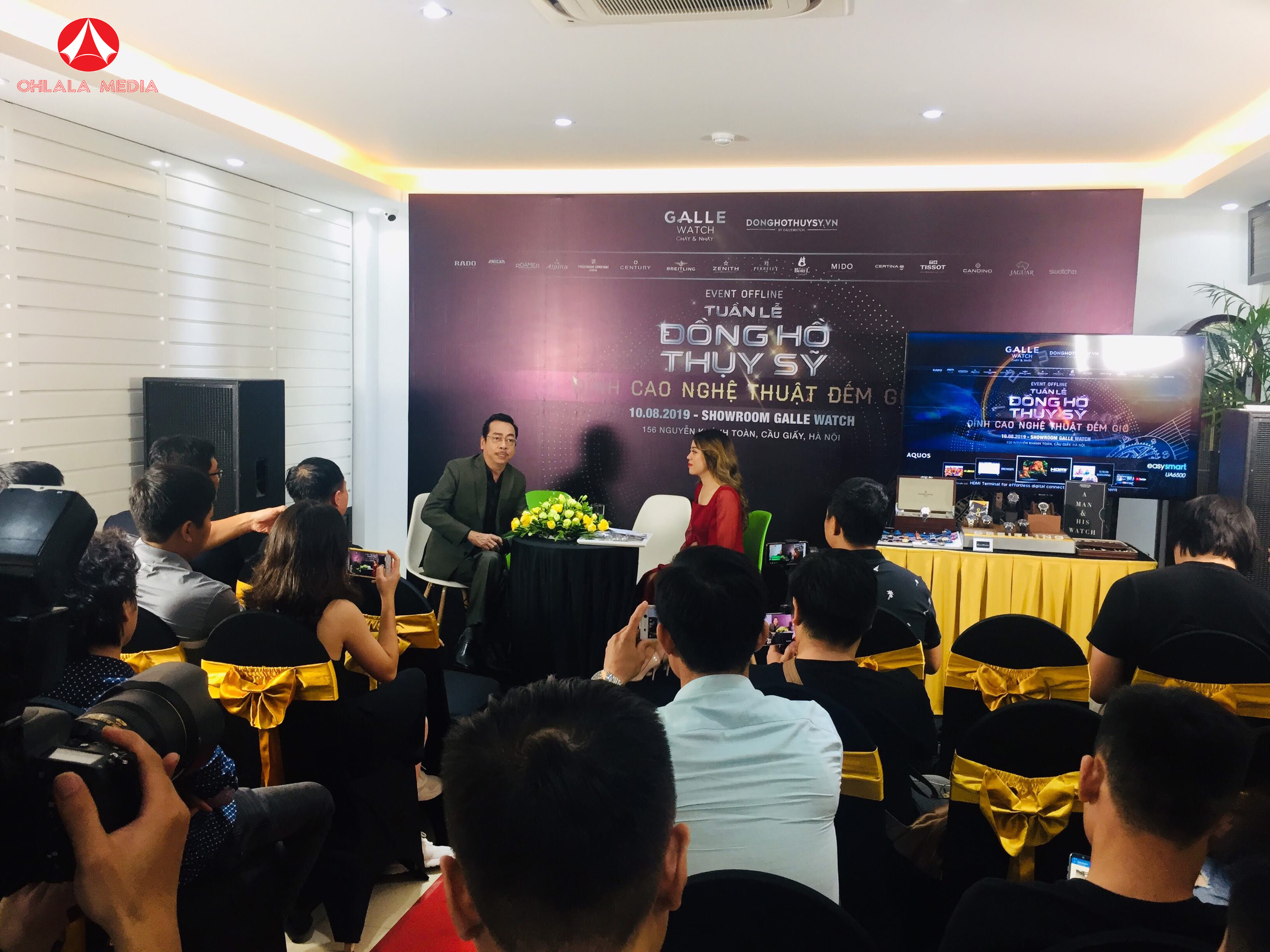 Talk Show Đồng Hồ Thụy Sỹ Galle Watch – Ohlala Event